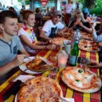 Könfler Pizzaessen